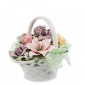 музыкальная композиция цветочная корзина (pavone)