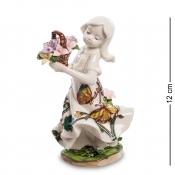 фигурка девушка с цветами (pavone)