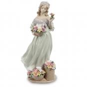 Статуэтка Девушка с корзинками цветов (Pavone)