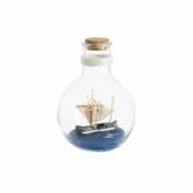 Корабль в бутылке 11см
