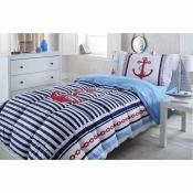 Постельный комплект с одеялом 1,5сп Nautica