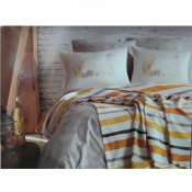 Турецкий постельный комплект 2сп Sari