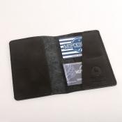 Обложка на паспорт латунь Якорь