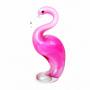 Фигурка стеклянная Розовый фламинго